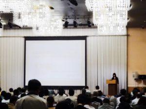 群馬県建設業協会の講演会