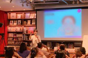 大阪蔦屋書店にて講演会を行いました